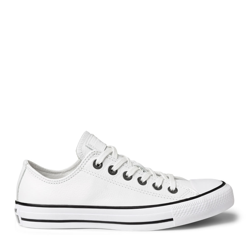 129ce380 Tênis All Star Chuck Taylor OX Branco Preto | Sua Loja Converse - Menina  Shoes