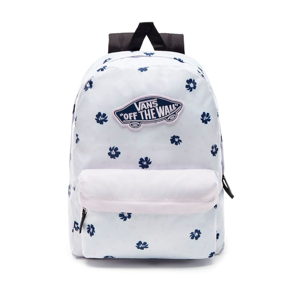 8af7cb3fc Mochila Vans WM Realm Backpack White Abstract