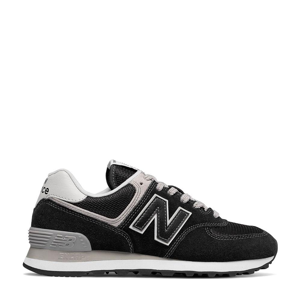 95579ae47 Tênis New Balance 574 Preto Cinza | New Balance - Menina Shoes