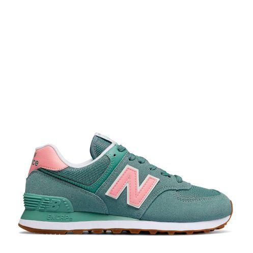 new balance roxo e verde