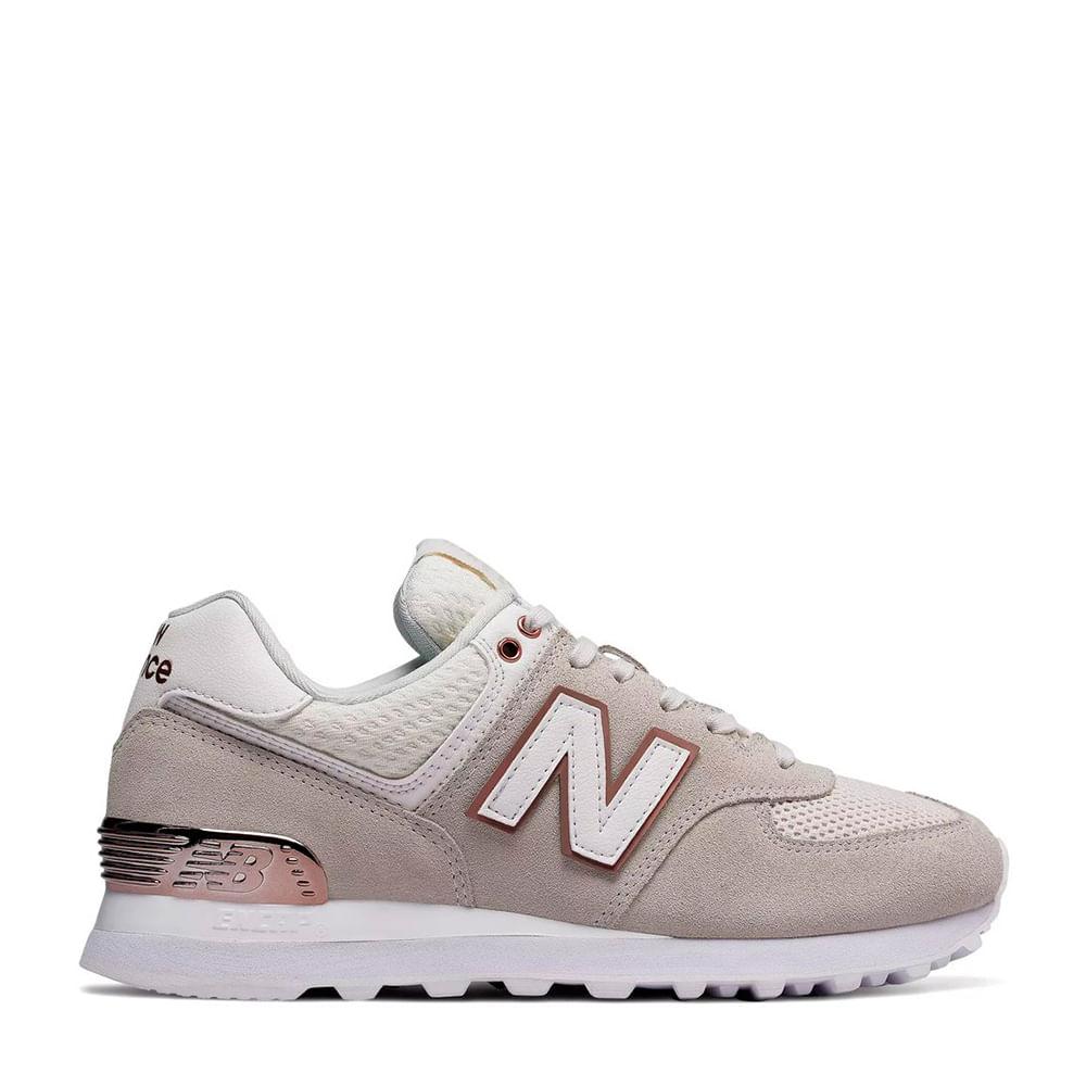 Shoes Balance New 574 Tênis RoseMenina Bege PXOZkui