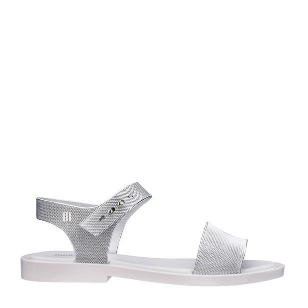 32639-Melissa-Mar-Sandal-Chrome-BrancoPrata-Variacao01