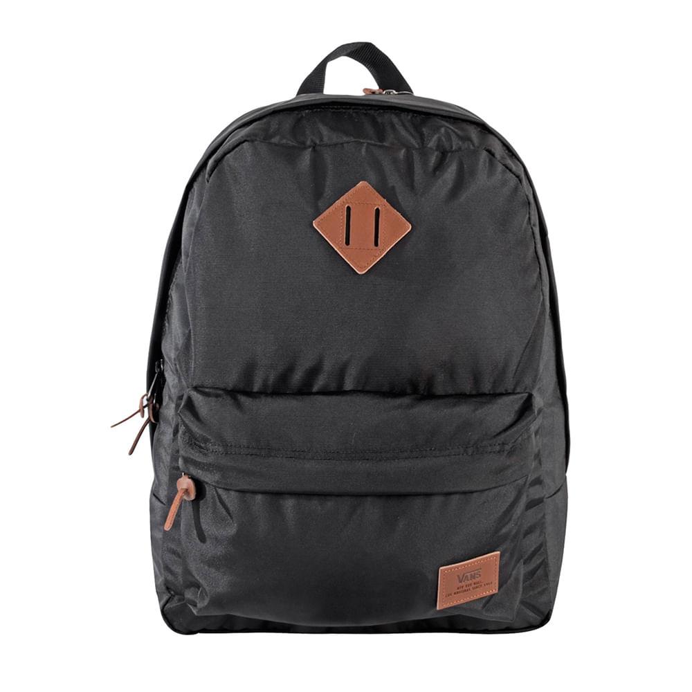 4cc87e788 Mochila Vans Old Skool Plus Backpack True Black | Vans - Menina Shoes