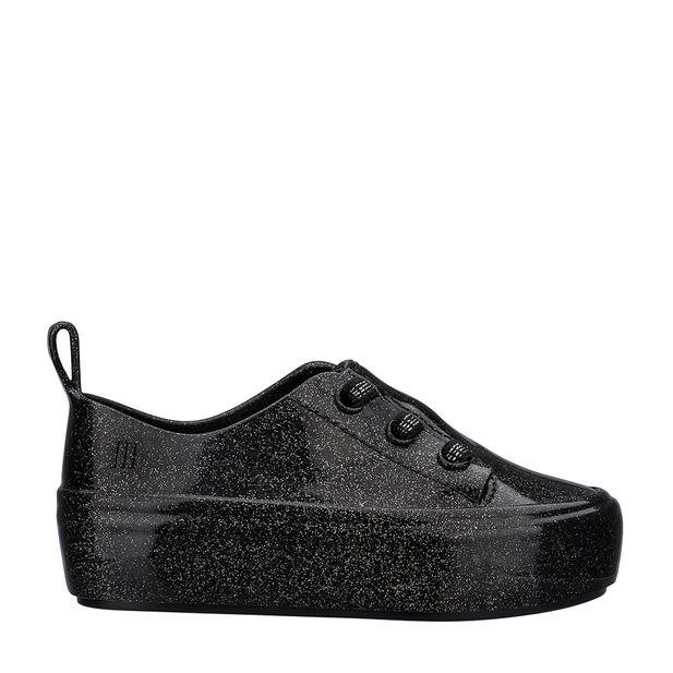 32751-Mini-Melissa-Ulitsa-Sneaker-Special-PretoGlitterPrata-Variacao01