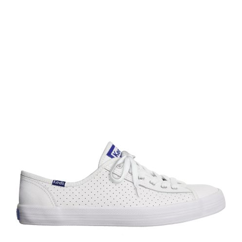 Keds Kickstart Perf Leather Branco Blue