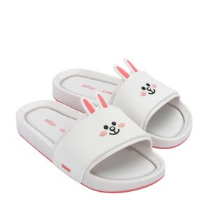 32920-Mini-Melissa-Beach-Slide-Line-Friends-BrancoRosa-Variacao1