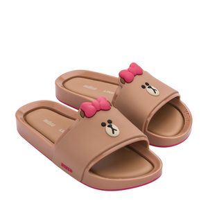 32920-Mini-Melissa-Beach-Slide-Line-Friends-MarromRosa-Variacao1