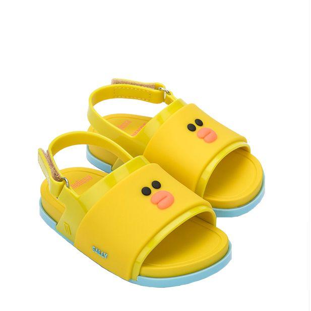 32919-Mini-Melissa-Beach-Slide-Sandal-Line-Friends-Amarelo-Variacao1